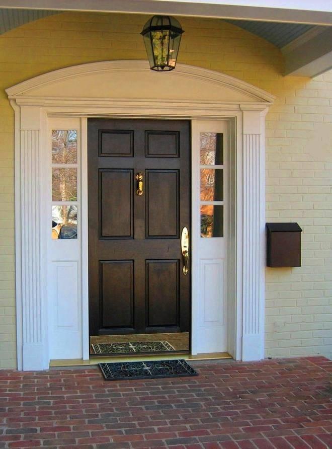 Деревянные двери в деревянный дом (78 фото): межкомнатные и входные железные, какие лучше выбрать для деревенского стиля