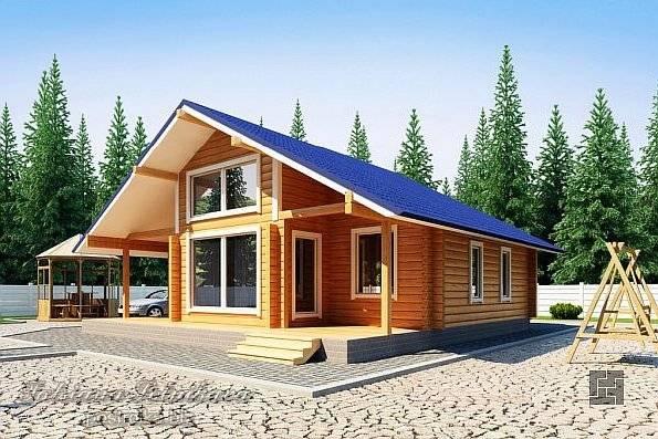 Сруб из кедра (21 фото): рубленные дома по канадской технологии, варианты из бревна большого диаметра