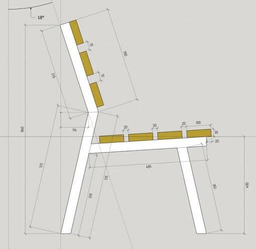Скамейки из профильной трубы своими руками: инструкция по изготовлению