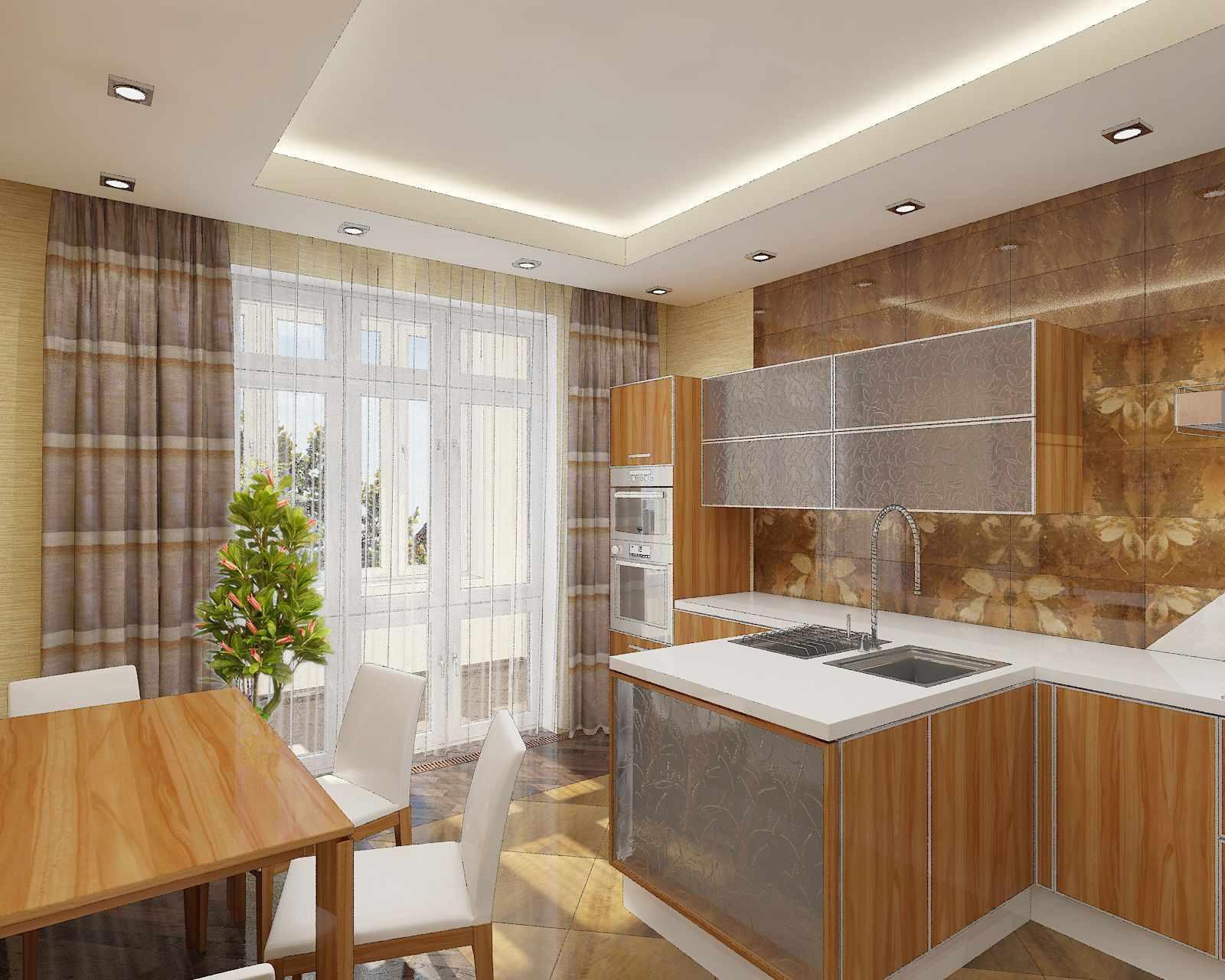 Гипсокартонные потолки на кухне – от дизайна до установки
