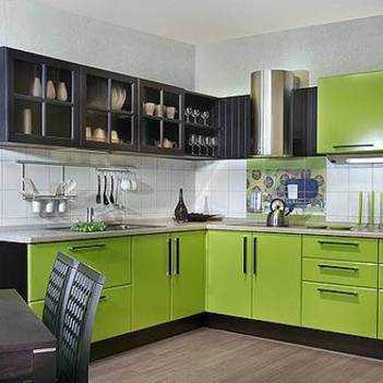 Кухня цвета лайм: фото интерьеров и совету по дизайну
