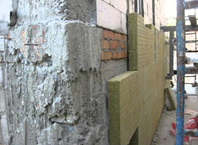 Технология утепления штукатурных фасадов