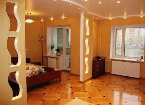 Как сделать декоративную перегородку в комнате из гипсокартона