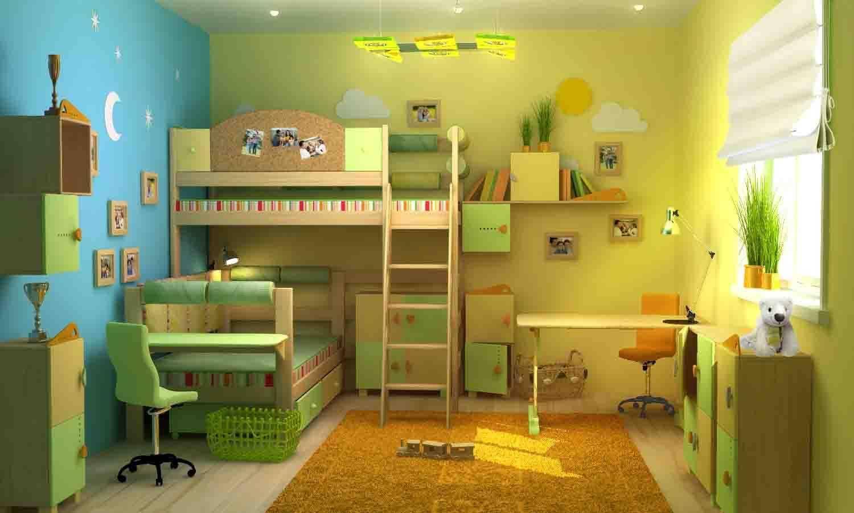 Детская для разнополых детей — необычные идеи практичного дизайна (75 фото)