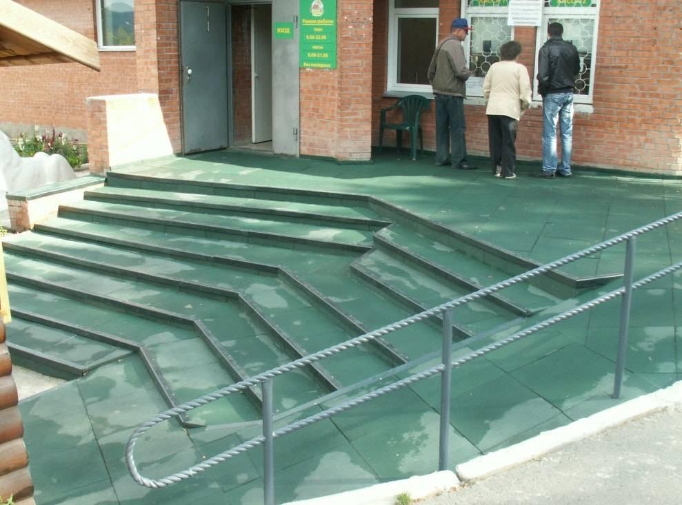 Уличное покрытие для крыльца: что лучше использовать