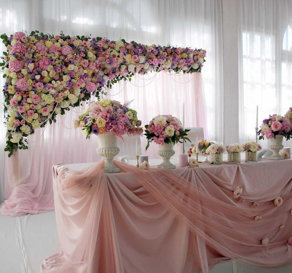 Украшение зала на свадьбу своими руками в тренде [2019] – советы? по пошаговому декору & фото