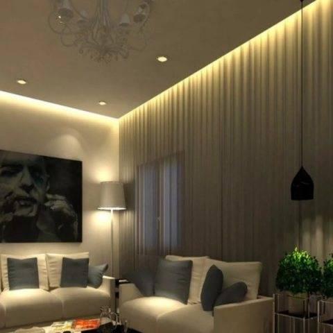 Двухуровневые потолки с подсветкой: особенности оформления