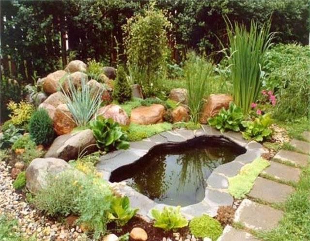 Как сделать пруд на даче своими руками из покрышки, ванны и не только, оформление декоративного водоёма, с фото и видео