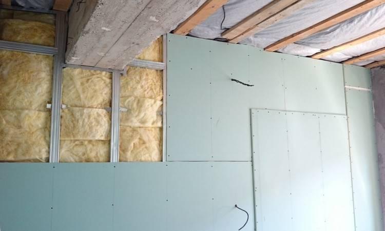 Стена из гипсокартона своими руками: инструкция по монтажу