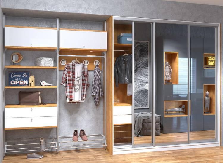 Как обустроить шкаф-купе внутри: идеи и полезные рекомендации по наполнению