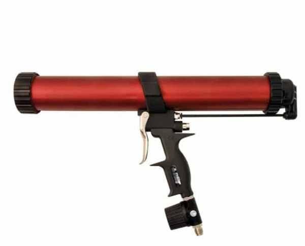 Как пользоваться пистолетом для герметика?