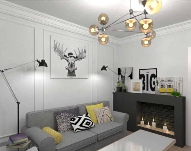 Молдинги на стенах в интерьере: фото и варианты декора