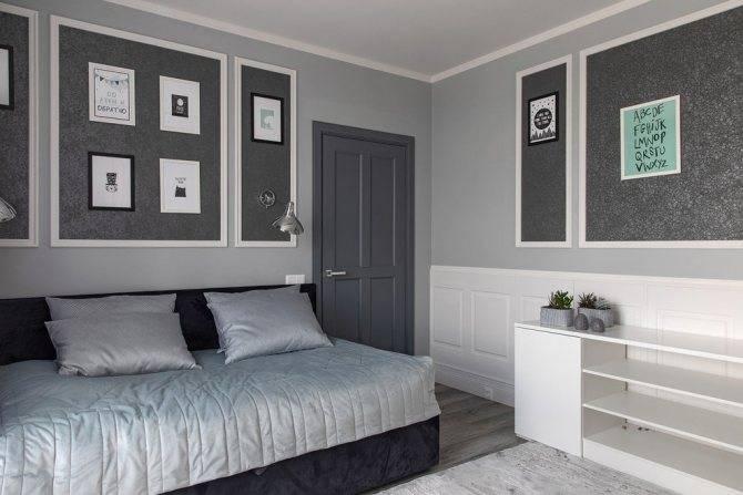 Серый цвет в интерьере: 90+ фото, примеры дизайна