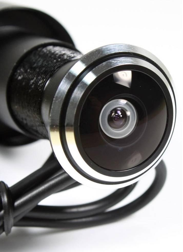 Камера в глазок двери с записью