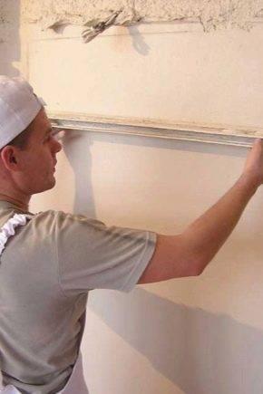 Чем выравнивать стены в квартире: строительные смеси для выравнивания стен