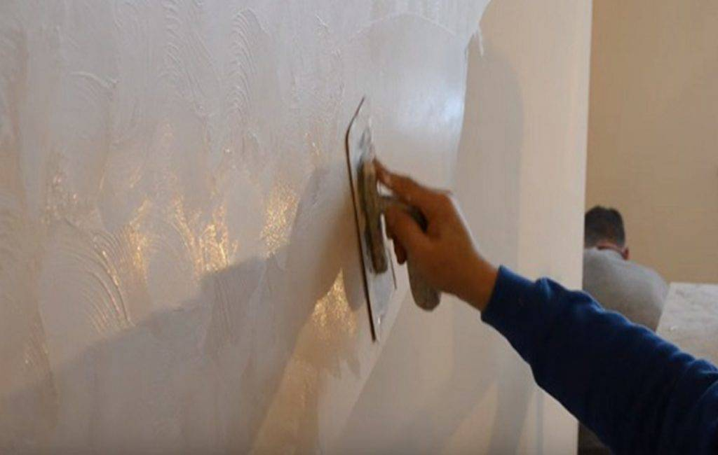Венецианская штукатурка стен