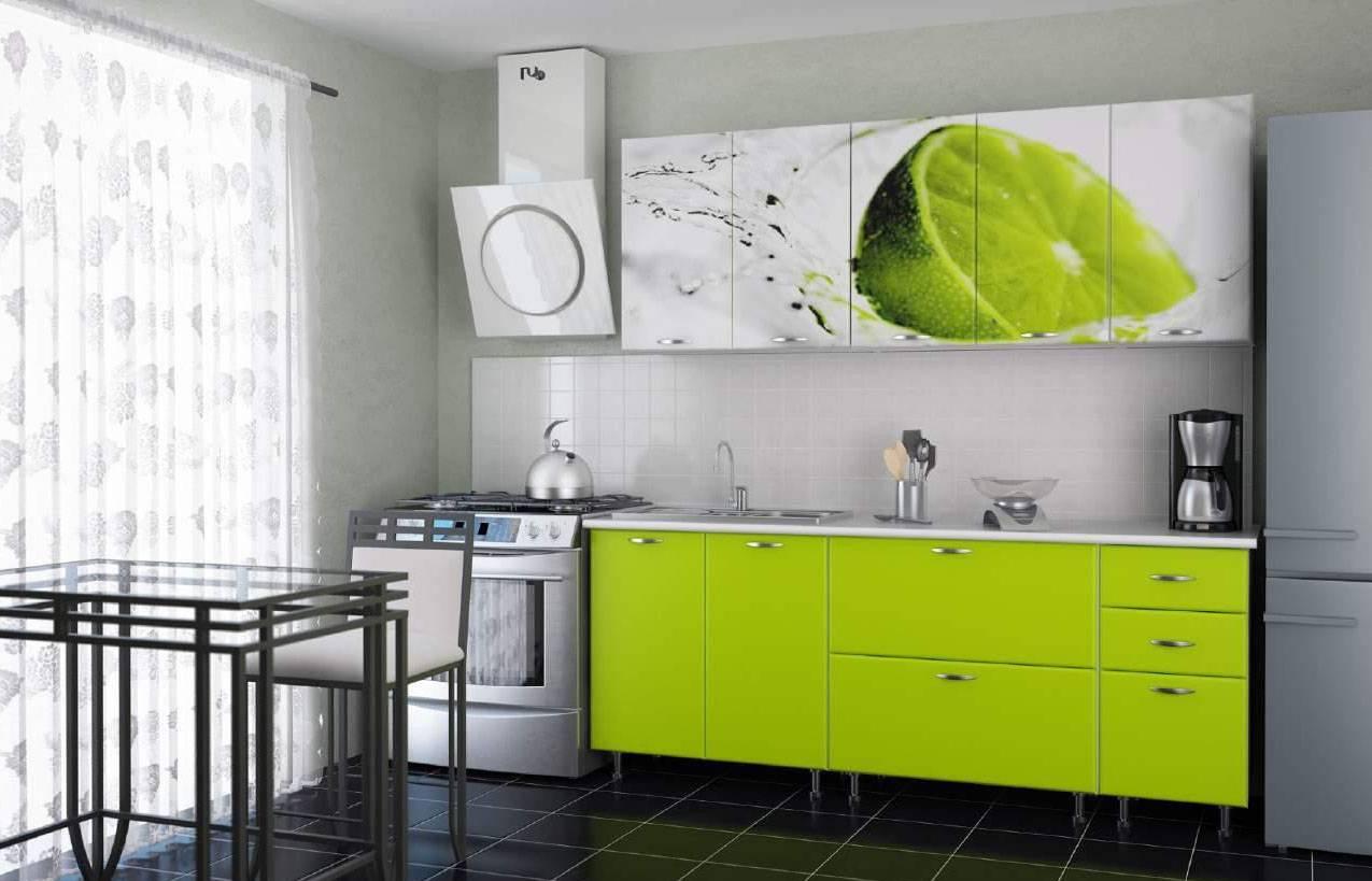 Кухня цвета лайм: 40+ идей, фото интерьеров, мебели и декора