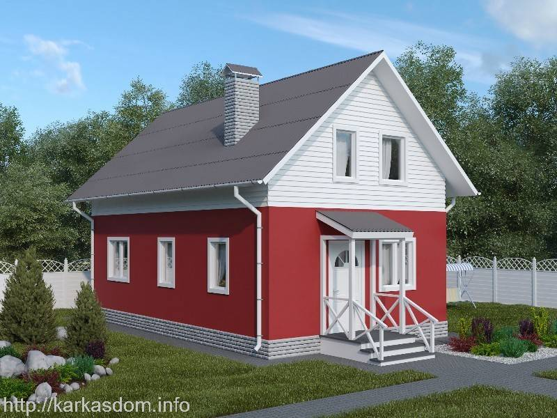 Красивые и практичные проекты одноэтажных домов до 100 м² — особенности выбора