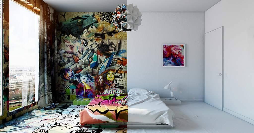 100 лучших идей: оформление стены фотографиями