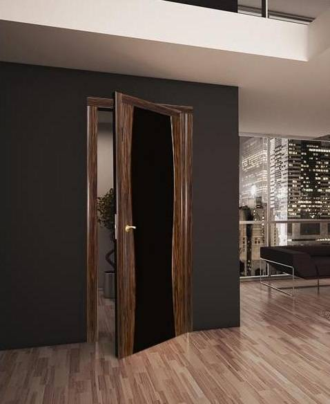 Двери под ламинат: правила сочетания цветов, фото в интерьере квартиры