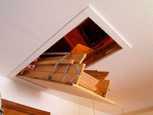 Как сделать лестницу на чердак: инструкция