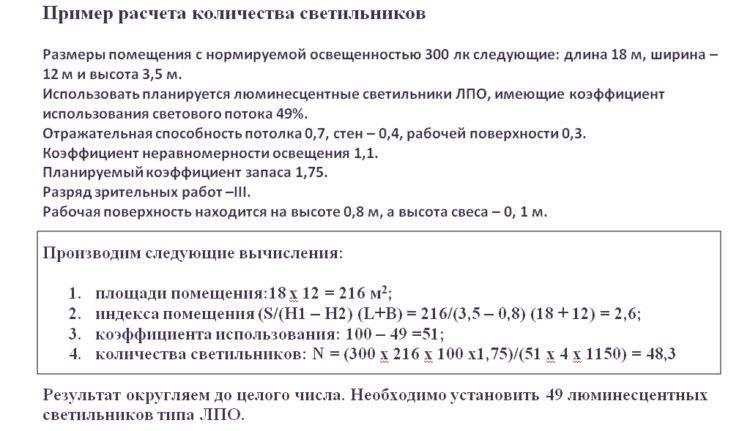 Нормы освещенности жилых помещений: правильный расчет | 1posvetu.ru