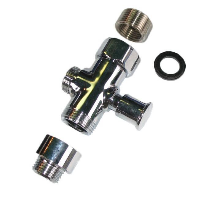 Дивертор: разновидности переключателей для воды, материалы и особенности выбора