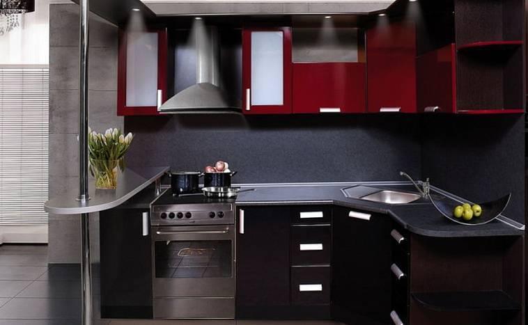 Дизайн кухни цвета венге: оттенки, стили, сочетания, реальные фото
