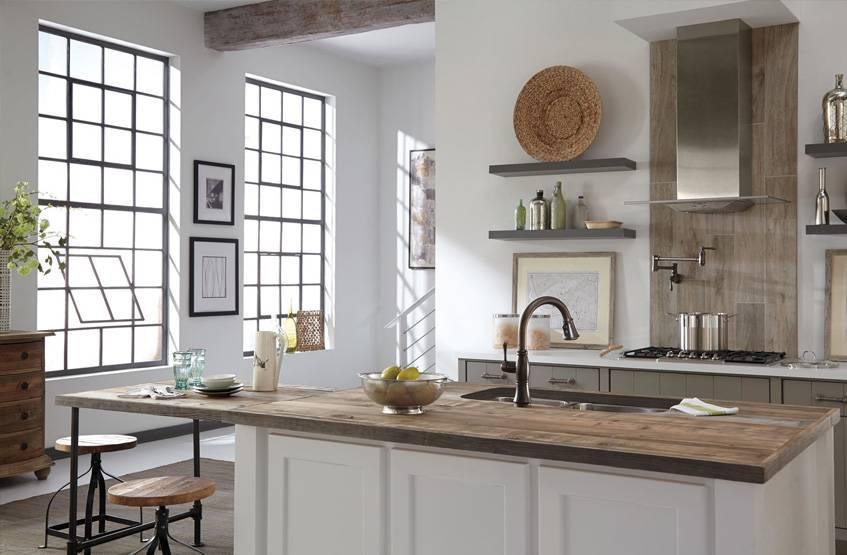 Кухня-гостиная в светлых тонах: интересные решения