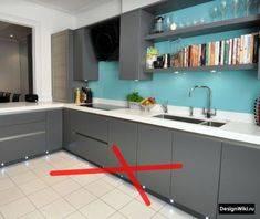 Стиль хай-тек в дизайне интерьера кухни