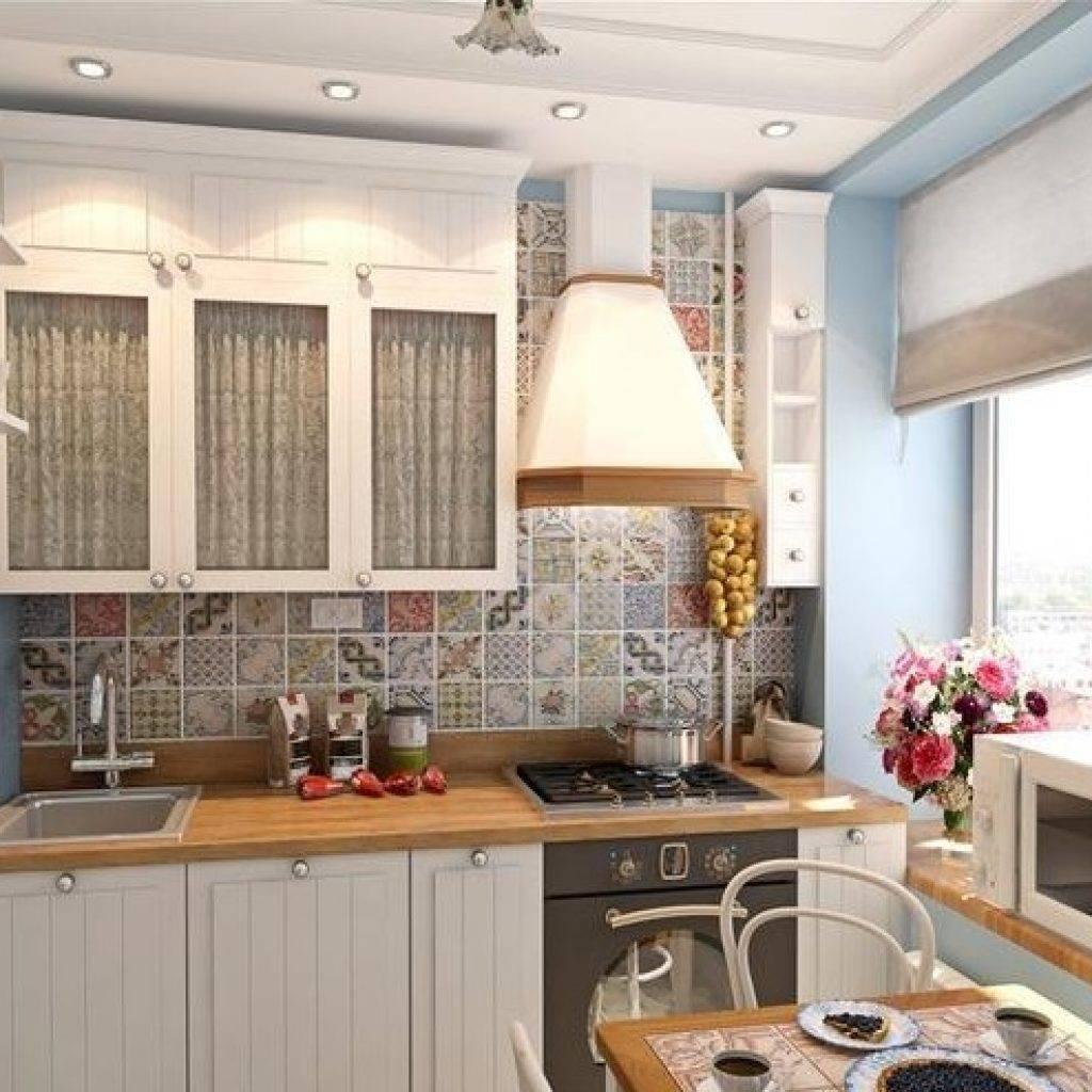 Уютная кухня в хрущевке -41 фото пример