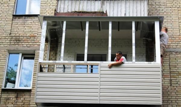 Наружная отделка: как недорого и быстро обшить балкон снаружи