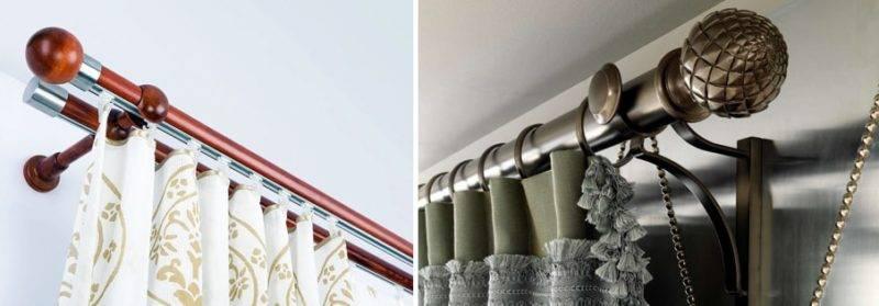 Как правильно повесить карниз для штор на стену расстояние? - отопление