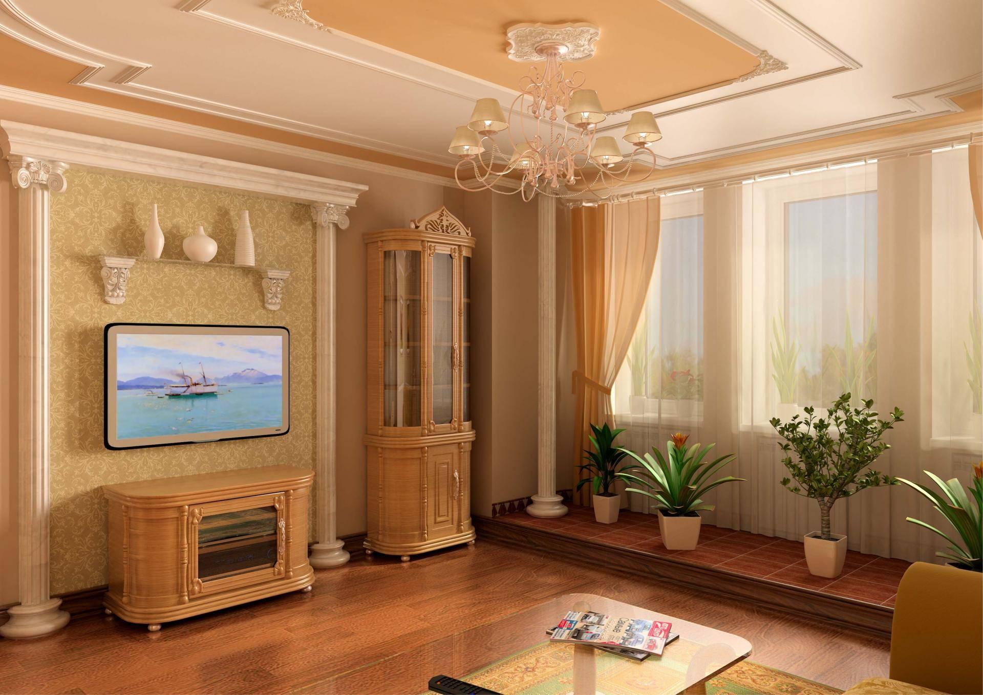 Молдинги в интерьере квартиры - декоративные идеи дизайна