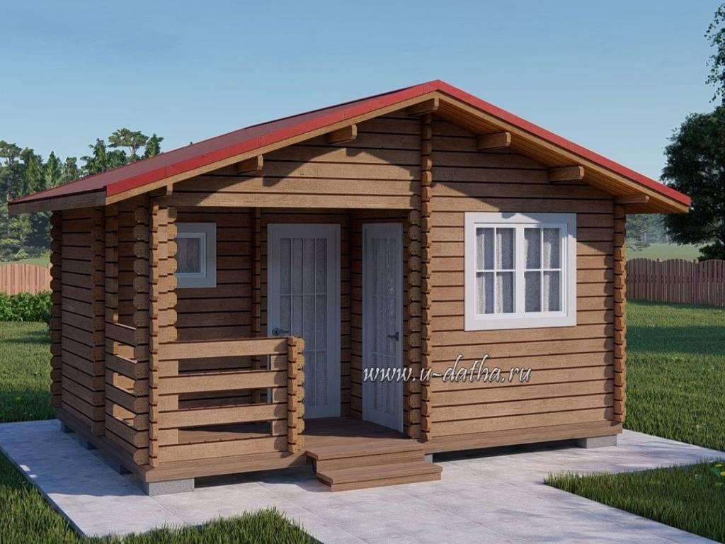 Каркасный дачный домик под ключ недорого своими руками
