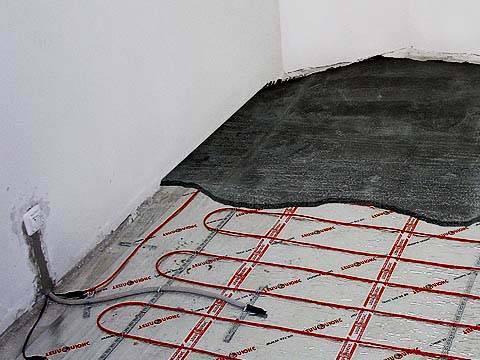 Электрический теплый пол под плитку: технология укладки плитки на теплый пол своими руками / zonavannoi.ru