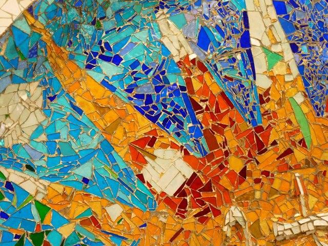 Шестиугольная плитка и мозаика в интерьере
