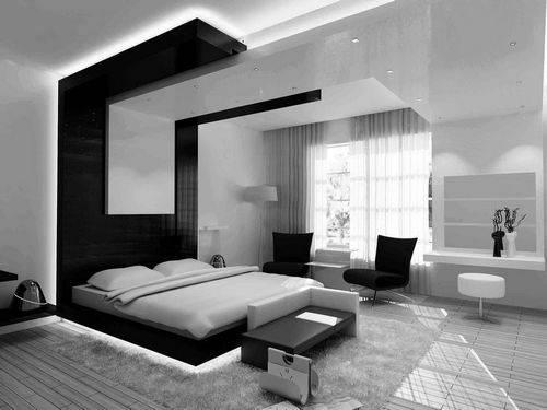 Спальня в стиле минимализм - 70 фото необычного дизайна