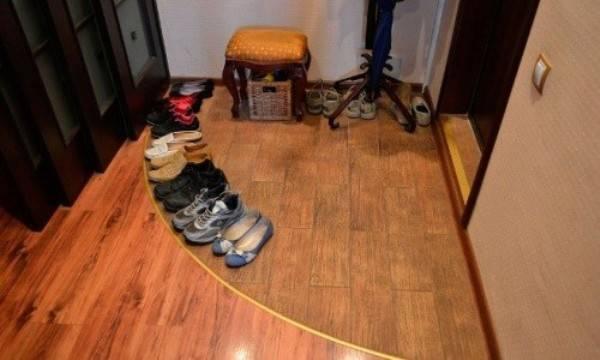 Оформление стыков ламината между комнатами