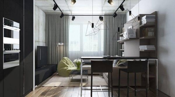 Гостиная 30 кв. м. — 75 фото модных идей дизайна