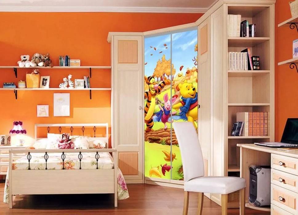 Шкаф в детскую комнату - примеры и совету по выбору (38 фото)