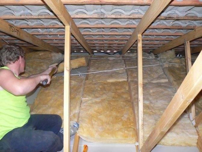 Как сделать потолочное перекрытие в частном доме +видео