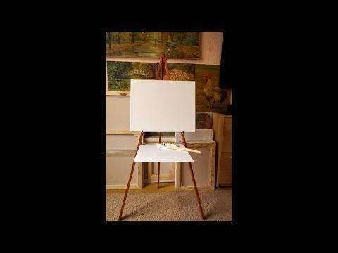 Мольберт своими руками — виды подставок для рисования и пошаговая инструкция по изготовлению с фото