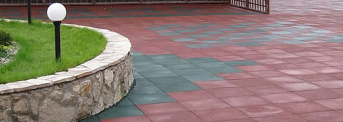 Покрытия из резиновой крошки: рулонное для спортивных площадок и бесшовное для ступеней, производство рулонов и других покрытий
