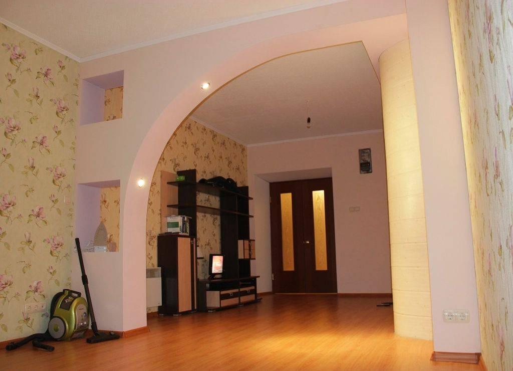 Межкомнатные арки в интерьере: фото, виды, формы, материалы, выбор дизайна (+78 фото)
