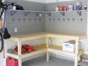 Стеллажи для гаража: виды конструкций для хранения