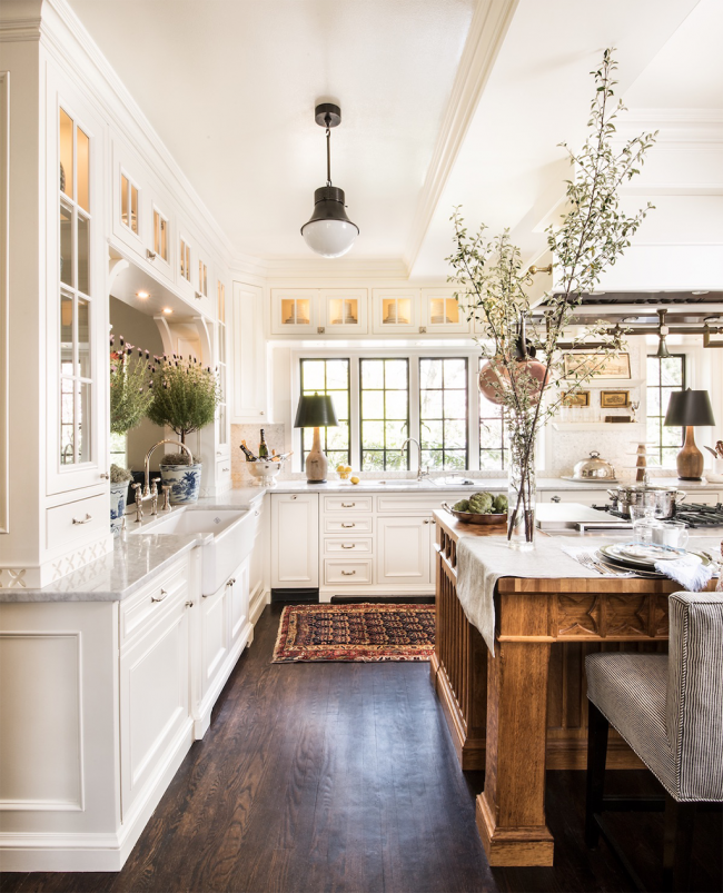 Стиль прованс в интерьере кухни: идеи, примеры, советы