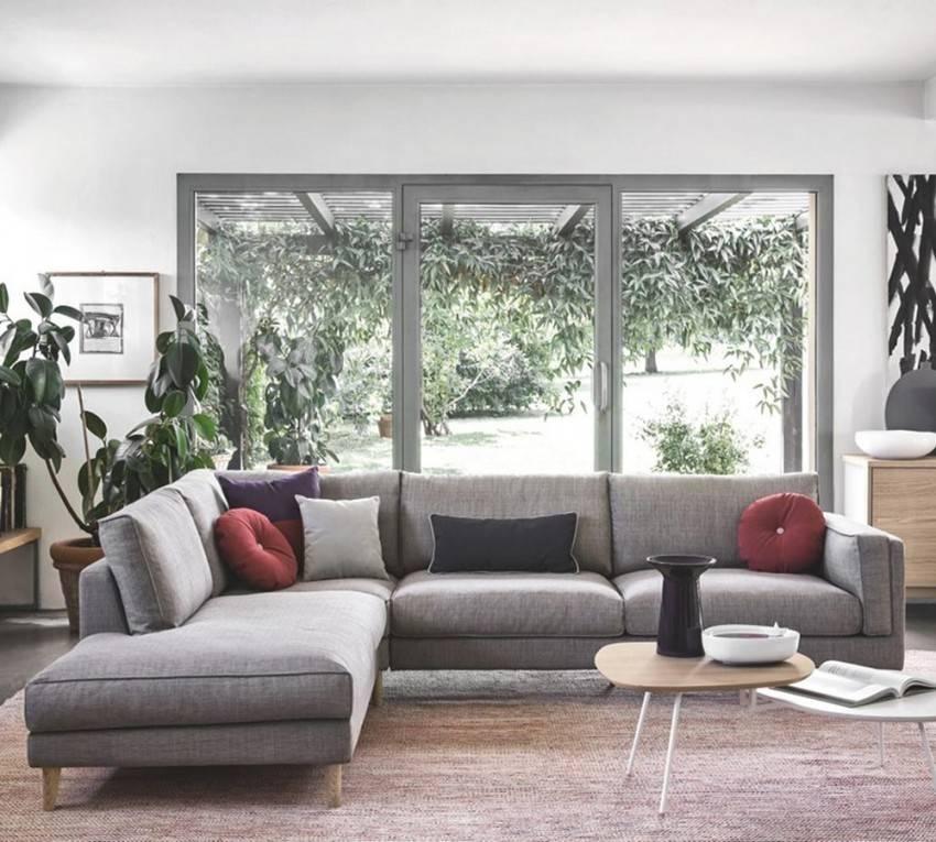 Модульный диван в гостиной — виды, критерии выбора, размещение в интерьере