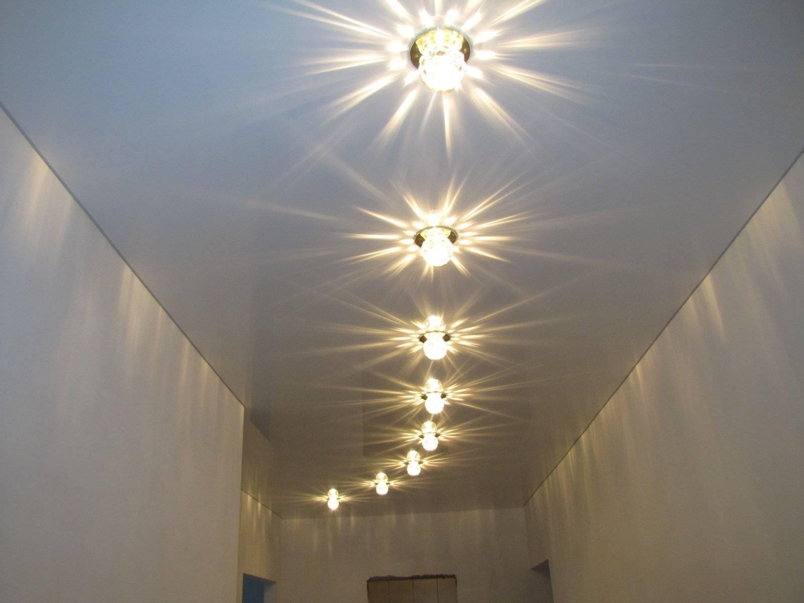 Освещение на кухне с натяжным потолком: 40 фото, варианты дизайна