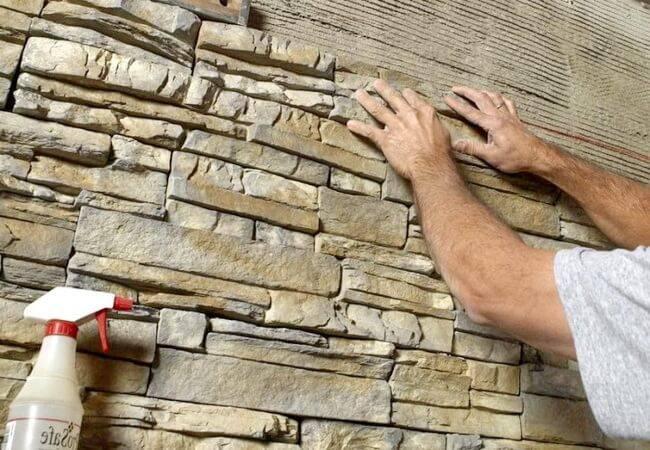 Клей для гипсового декоративного камня: разновидности и правила выбора. - все про керамическую плитку